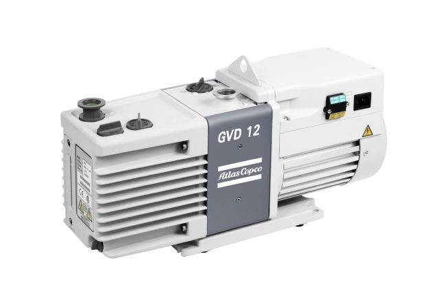 GVD 18, oil-sealed rotary vane vacuum pump